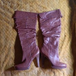 Jessica Simpson Knee High Heels Boots